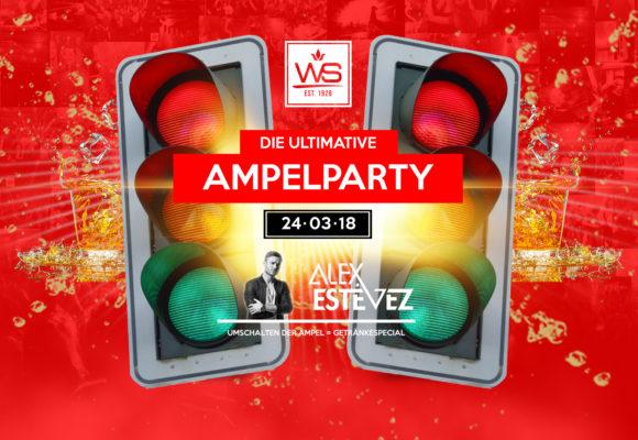 WS Ampelparty · 24. März · Getränkespecials!