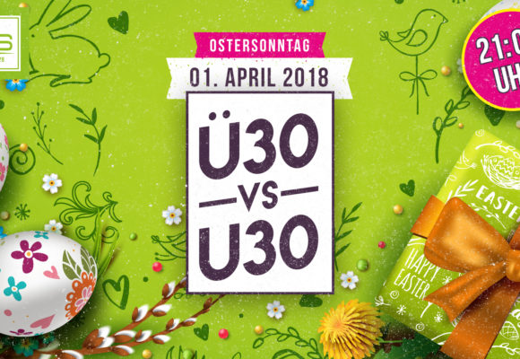 WS · Ü30 vs. U30 · Ostersonntag – 01.04.18