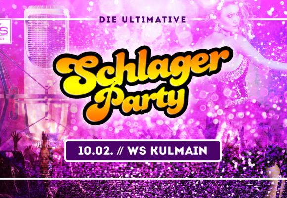 ★ Schlager Party im WS Kulmain // 10.02. ★
