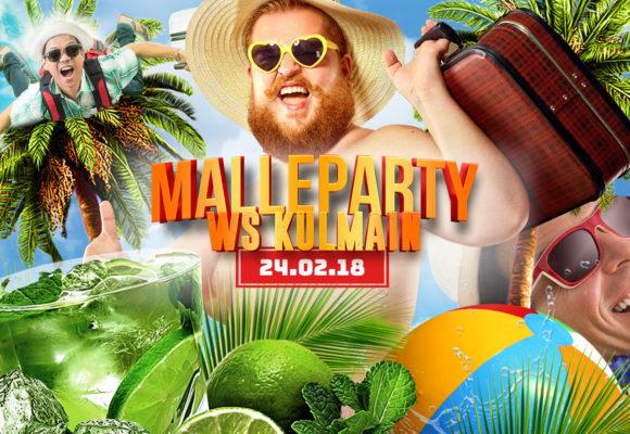 WS – Die Malleparty // 24.02.18